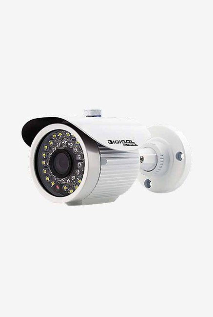 DigiSol DG-CM3430S CMOS Outdoor Bullet Camera (White)