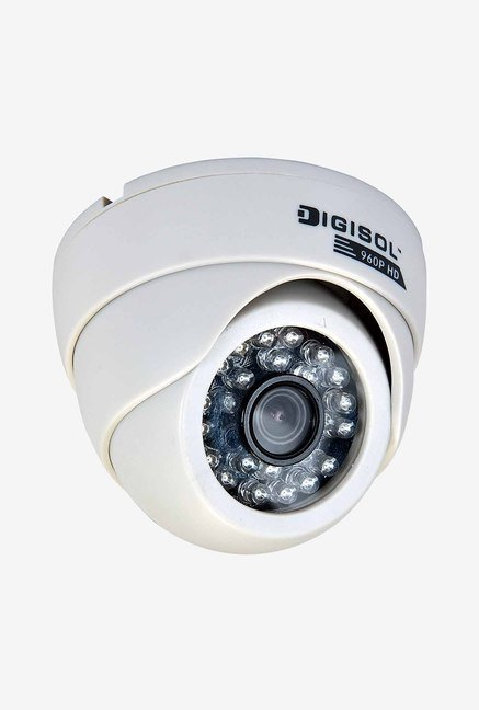DigiSol DG-CM5320PS CMOS Dome Camera (White)