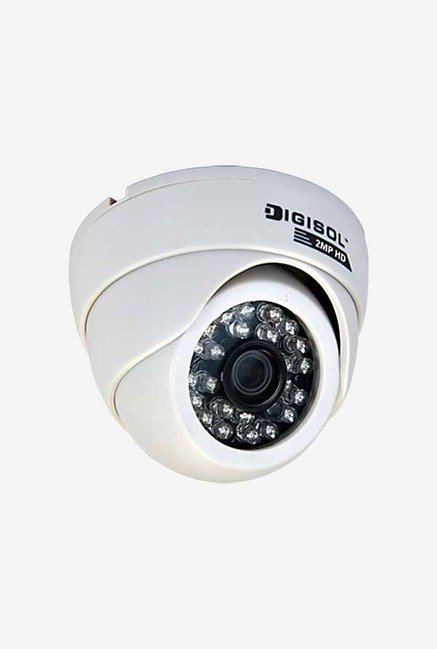DigiSol DG-CM5420PS CMOS Dome Camera (White)