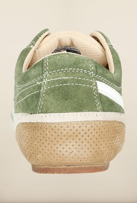 Woodland Green Casual Shoes