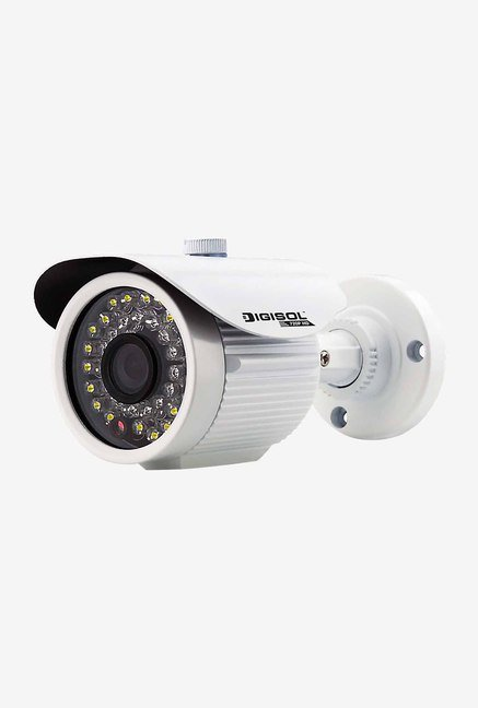 DigiSol DG-CM3220L CMOS Outdoor Bullet Camera (White)