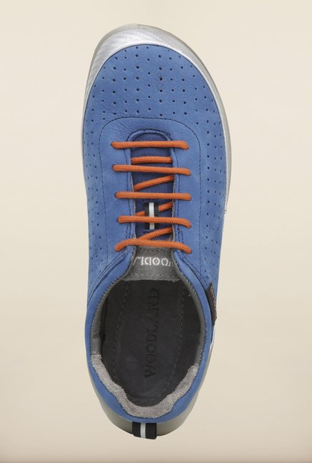 Woodland Blue Casual Shoes