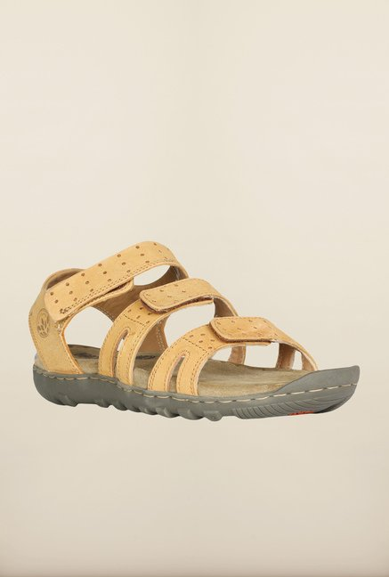Woodland Camel Floater Sandals
