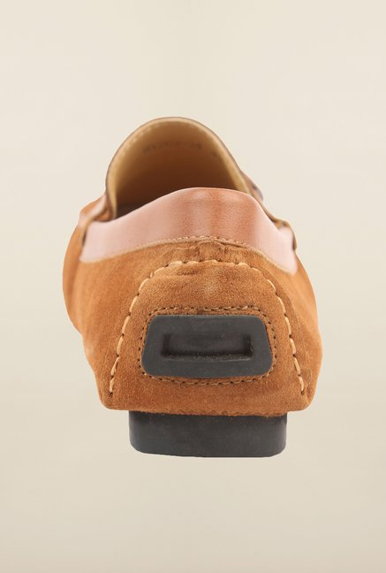 Cobblerz Camel Leather Loafers