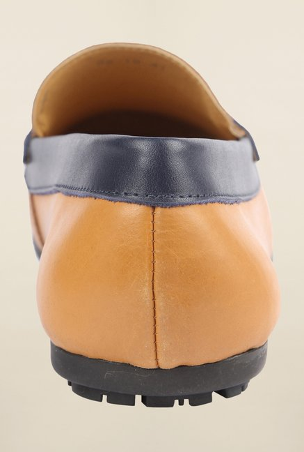 Cobblerz Tan Loafer Shoes