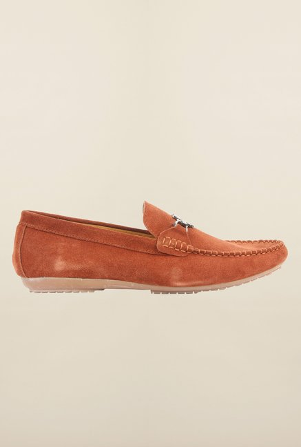 Cobblerz Camel Loafer Shoes