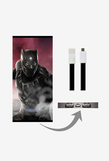 Macmerise UNP8KMMM0590 Team Red Black Panther 8000 mAh Universal POwer Bank with Dual USB Output