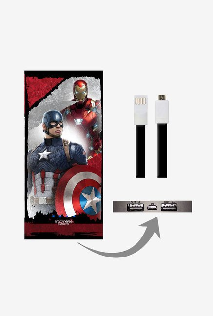 Macmerise UNP8KMMM0620 The Civil War 8000 mAh Universal POwer Bank with Dual USB Output