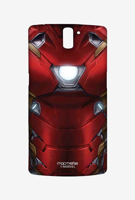 Macmerise Suit up Ironman Sublime Case for OnePlus One