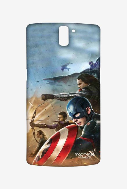 Macmerise Team Captain America Sublime Case for OnePlus One