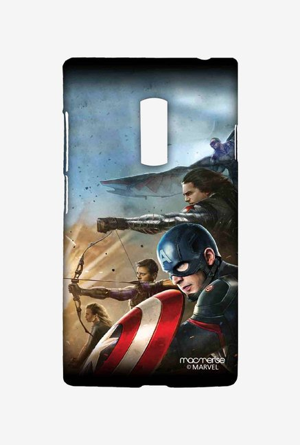 Macmerise Team Captain America Sublime Case for OnePlus Two