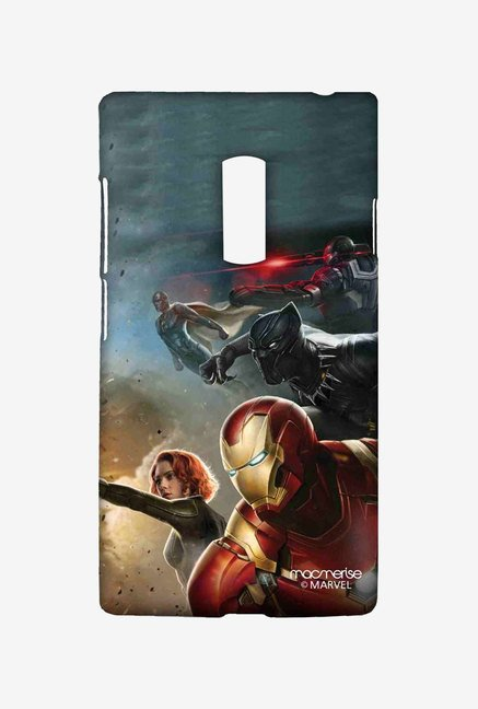 Macmerise Team Ironman Sublime Case for OnePlus Two