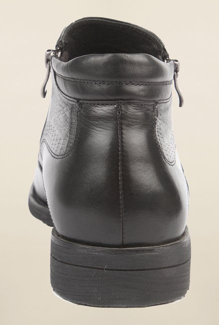 Cobblerz Black Biker Boot