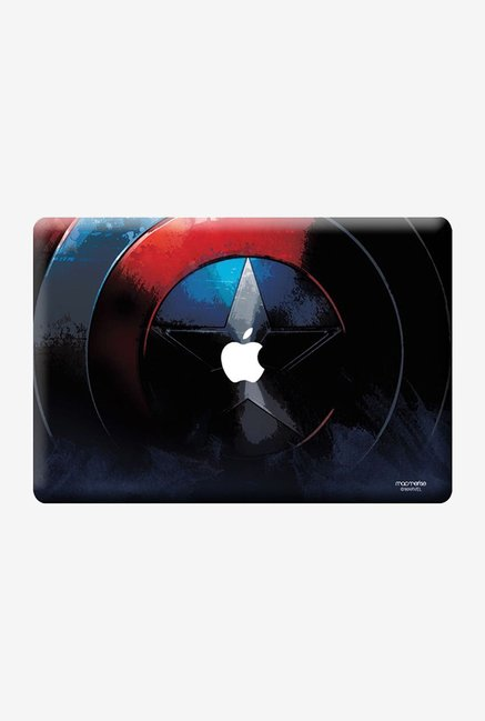 "Macmerise Grunge Cap Shield Skin for 13"" MacBook White"