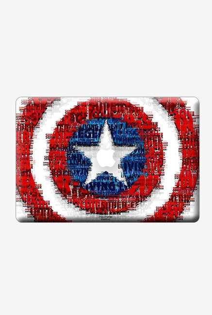 "Macmerise Shield Quotes Skin for 13"" MacBook White"