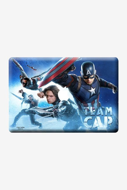 "Macmerise Team Cap Skin for 13"" MacBook White"