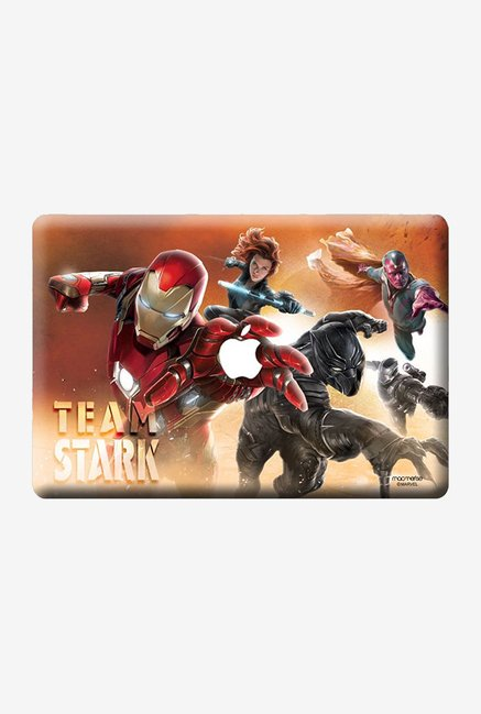 "Macmerise Team Stark Skin for 13"" MacBook White"