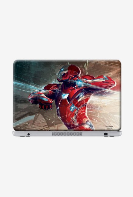"Macmerise Ironman Attack Skin for 17"" Generic Laptops"