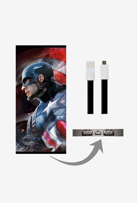 Macmerise Here Comes The Capt 8000 mAh Universal Power Bank