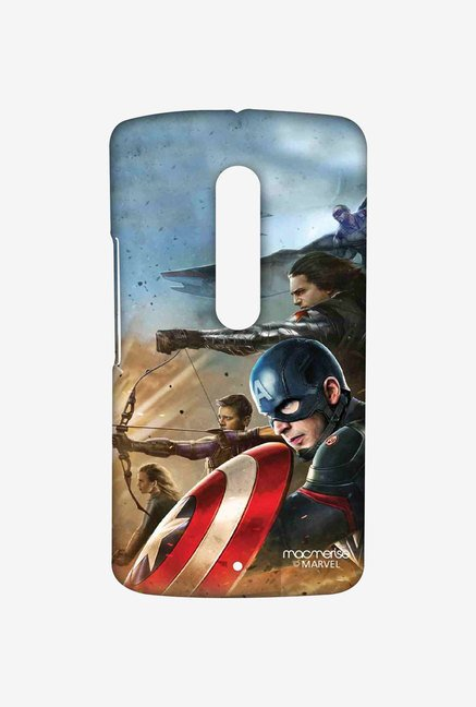 Macmerise Team Captain America Sublime Case for Moto X Play