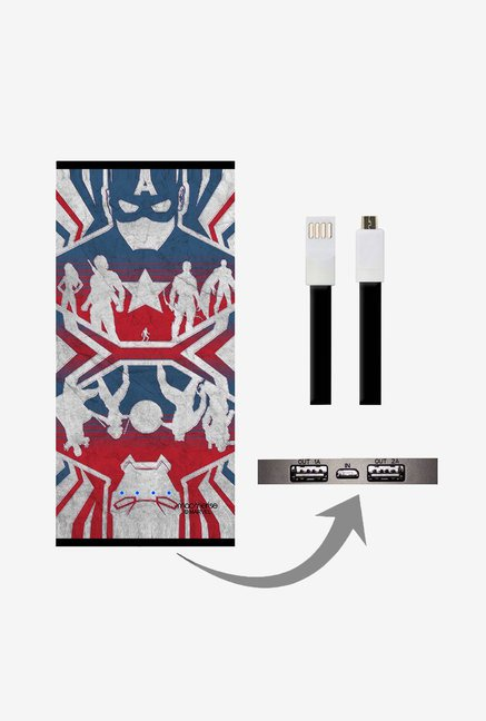 Macmerise Reflection Captain America 8000 mAh Power Bank