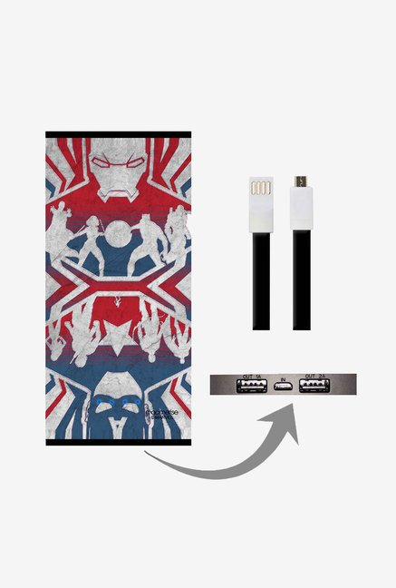 Macmerise UNP8KMMM0494 Reflection Ironman 8000 mAh Universal POwer Bank with Dual USB Output