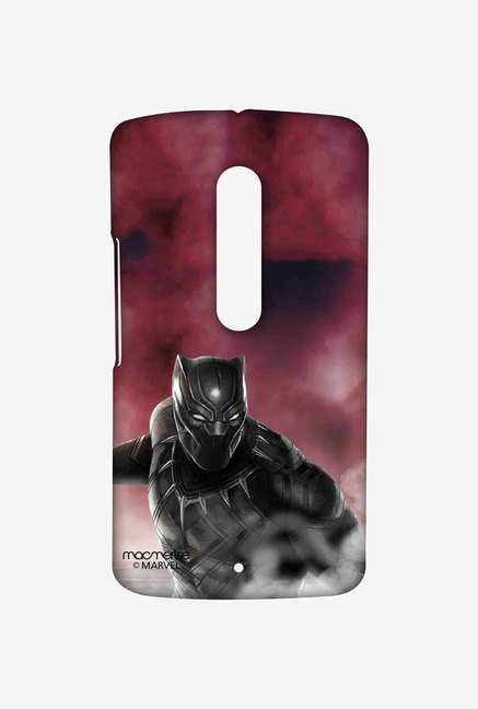 Macmerise Team Red Black Panther Moto X Play Sublime Case