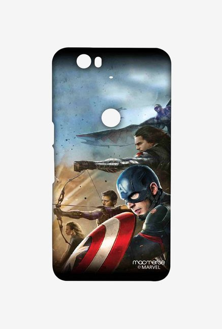Macmerise Team Captain America Huawei Nexus 6P Sublime Case