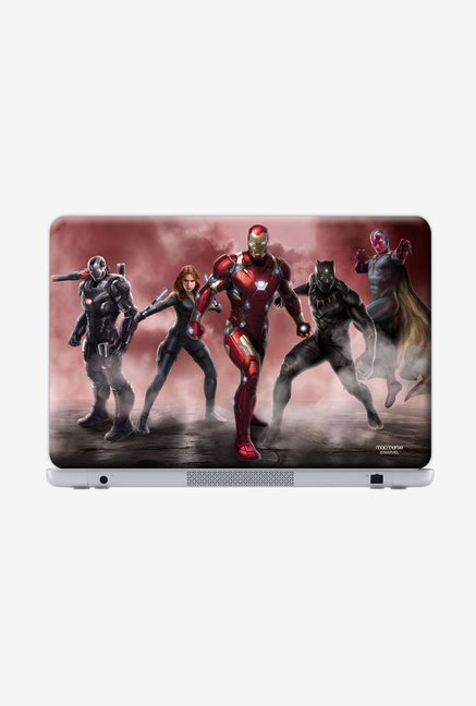 "Macmerise Team Red Stance Skin for 15.4"" Generic Laptops"