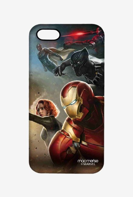 Macmerise Team Ironman Pro Case for iPhone SE