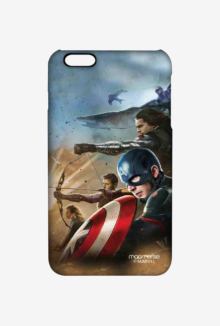 Macmerise Team Captain America Pro Case for iPhone 6 Plus