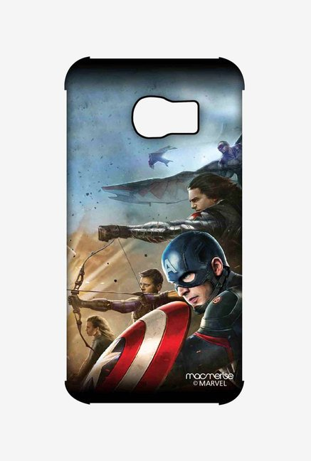Macmerise Team Captain America Pro Case for Samsung S6 Edge