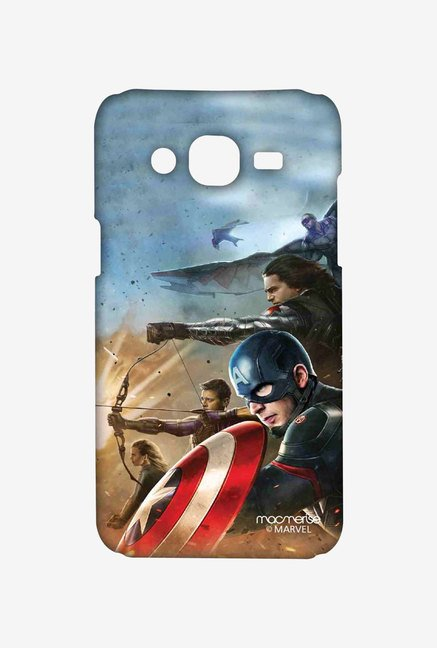 Macmerise Team Captain America Sublime Case for Samsung J7