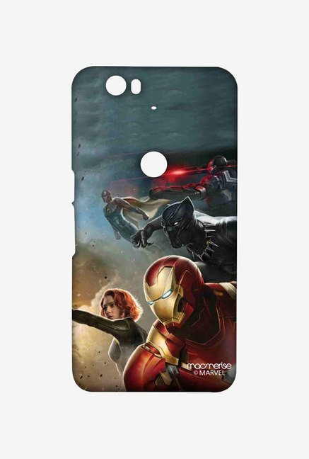 Macmerise Team Ironman Sublime Case for Huawei Nexus 6P