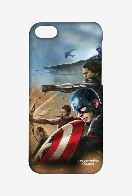 Macmerise Team Captain America Sublime Case for iPhone 5C