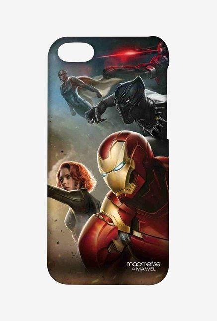 Macmerise Team Ironman Sublime Case for iPhone 5C
