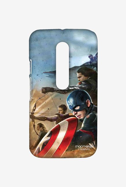 Macmerise Team Captain America Sublime Case for Moto G Turbo