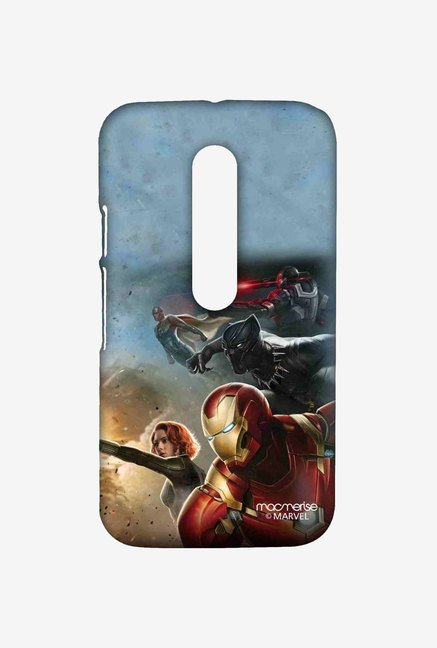 Macmerise Team Ironman Sublime Case for Moto G Turbo