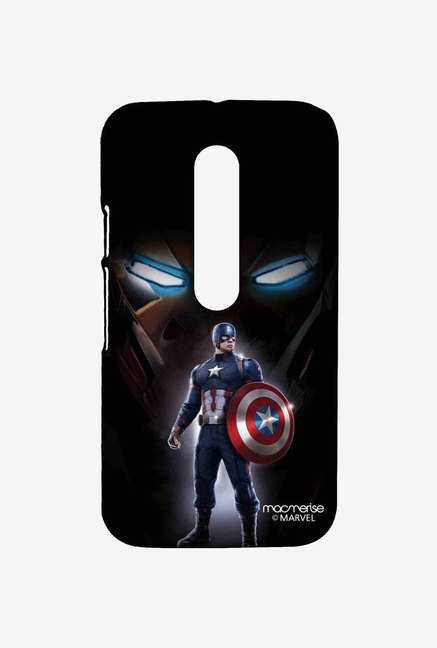 Macmerise Watchful Captain America Moto G Turbo Sublime Case