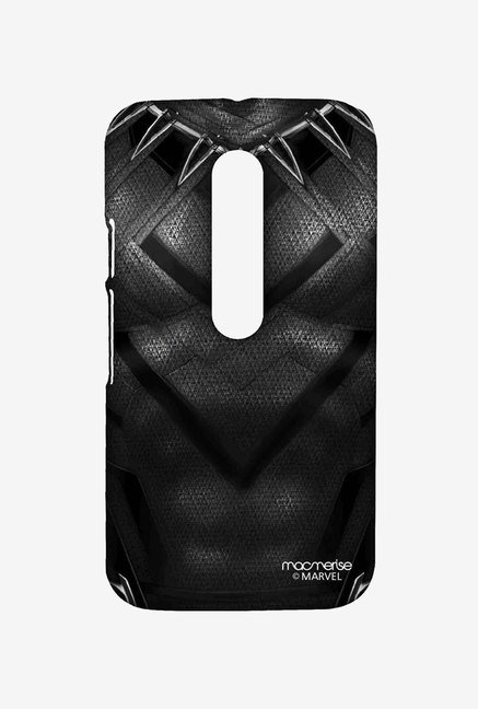 Macmerise Suit up Black Panther Sublime Case for Moto G3