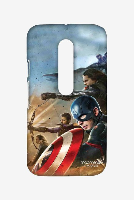 Macmerise Team Captain America Sublime Case for Moto G3