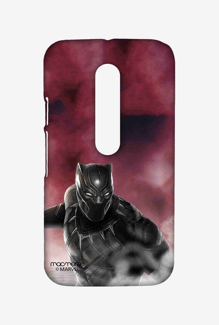 Macmerise Team Red Black Panther Sublime Case for Moto G3