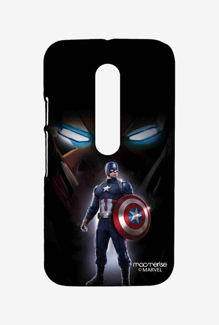 Macmerise Watchful Captain America Sublime Case for Moto G3