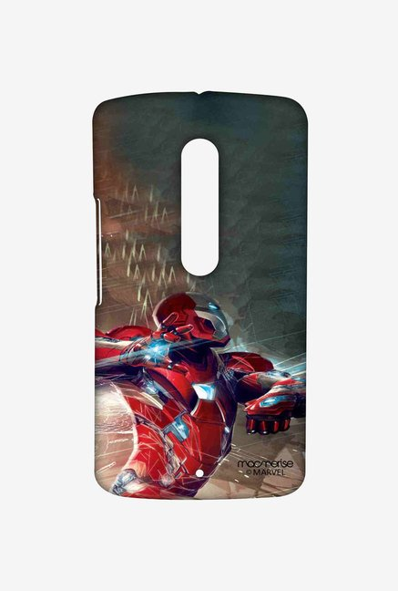 Macmerise Ironman Attack Sublime Case for Moto X Play