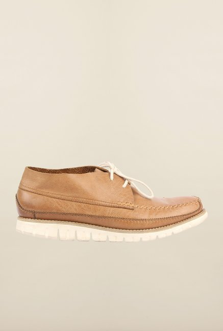 Cobblerz Tan Leather Shoes