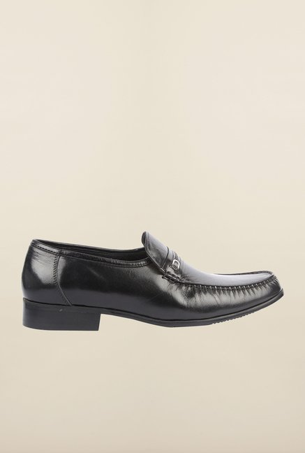 Cobblerz Black Formal Slip-Ons