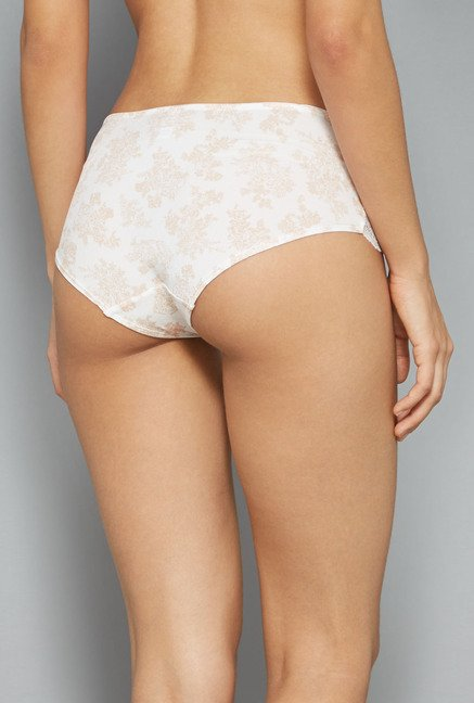Wunderlove Off White Mary Hipster Panty