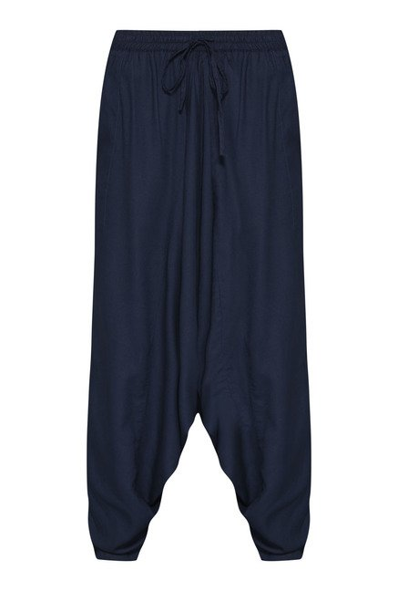 Bombay Paisley Navy Afghan Pant