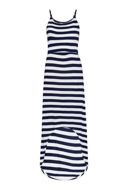 Nuon Navy Tulip Dress