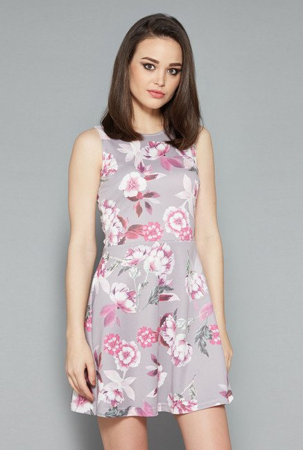 Nuon Grey Reva Dress